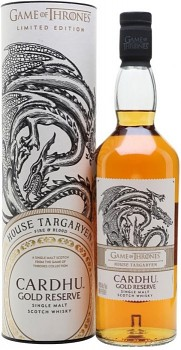 CARDHU RESERVE GAME OF THRONES 0,7l 40%