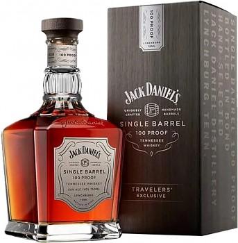 JACK DANIELS SINGLE BARREL 100 PR0OF0,7l