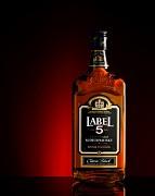 Label 5 Scotch Whisky - dárk. kartónek            1L 40%