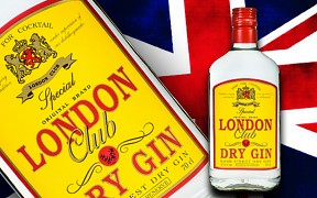 LONDON CLUB DRY GIN 0,7l    37,5%